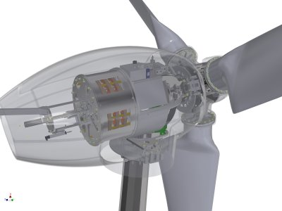30 kW Wind Turbine With pitch Control