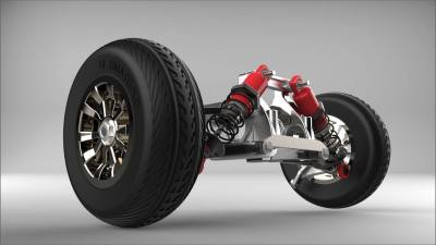 Front Wheel Suspension