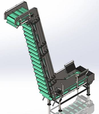 Food processing equipment- Z-Elevator Conveyor